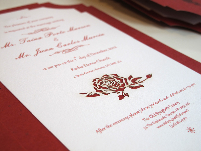 red rose wedding invitations | wedding design ideas, Wedding invitations